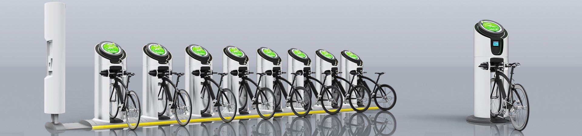 Bike Charging Station Product Design by Kohlex